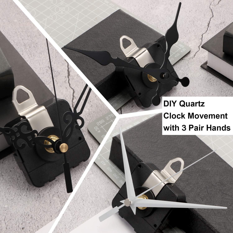 Hände DIY Quarzuhrwerk Mechanismus Reparaturwerkzeug Teile Kit Set HN