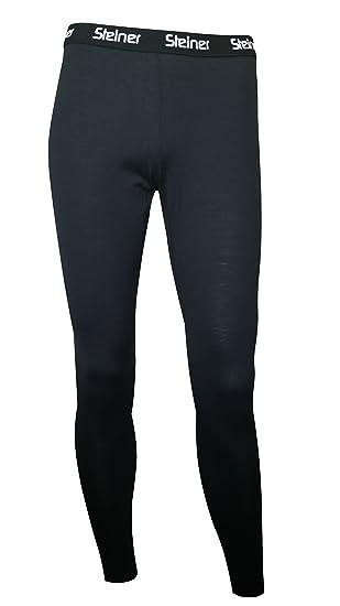 c98eff20673 Steiner Men s Merino Wool Long Johns - Black