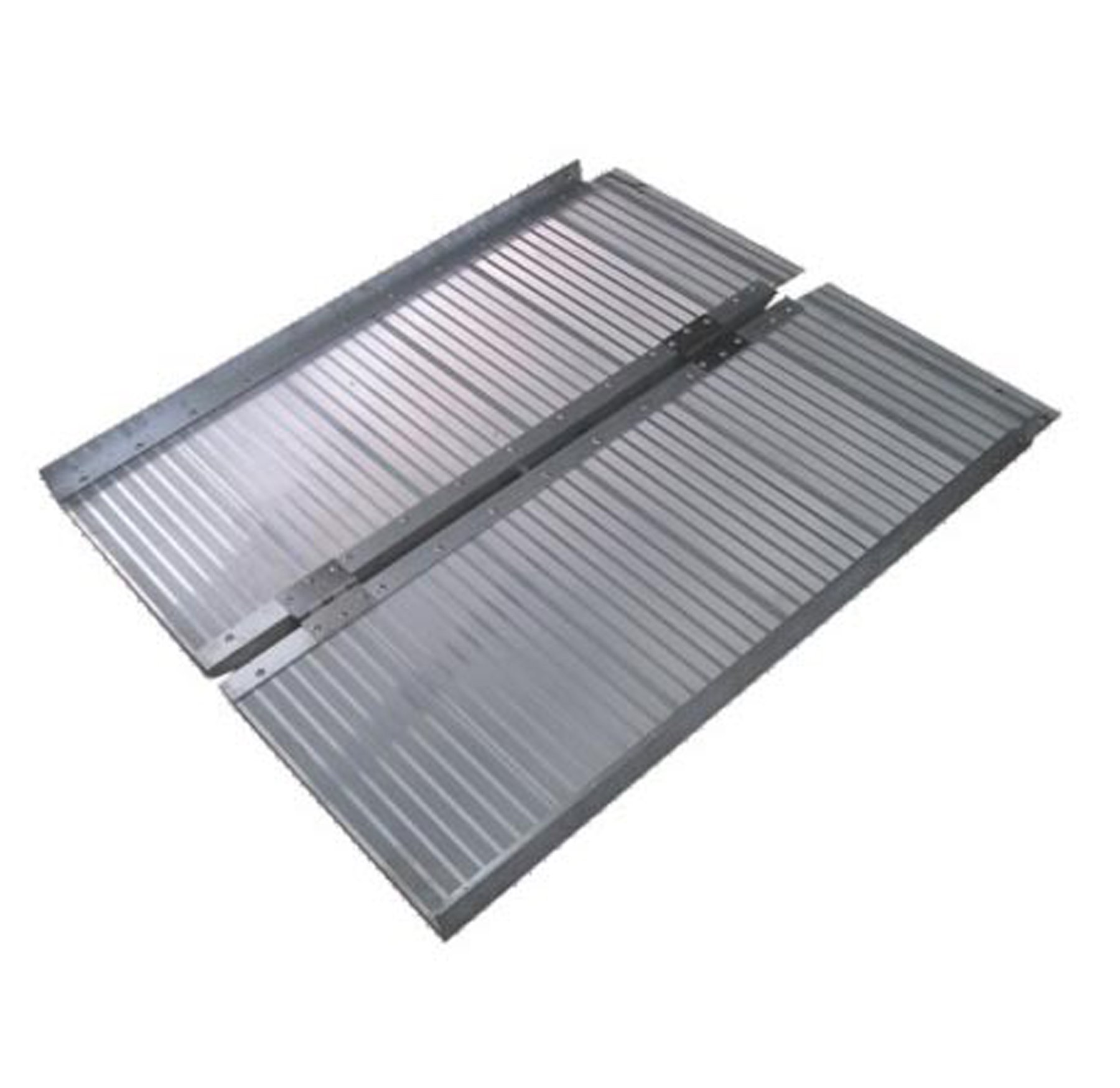 Wheelchair Ramp, 6 foot Folding Aluminum