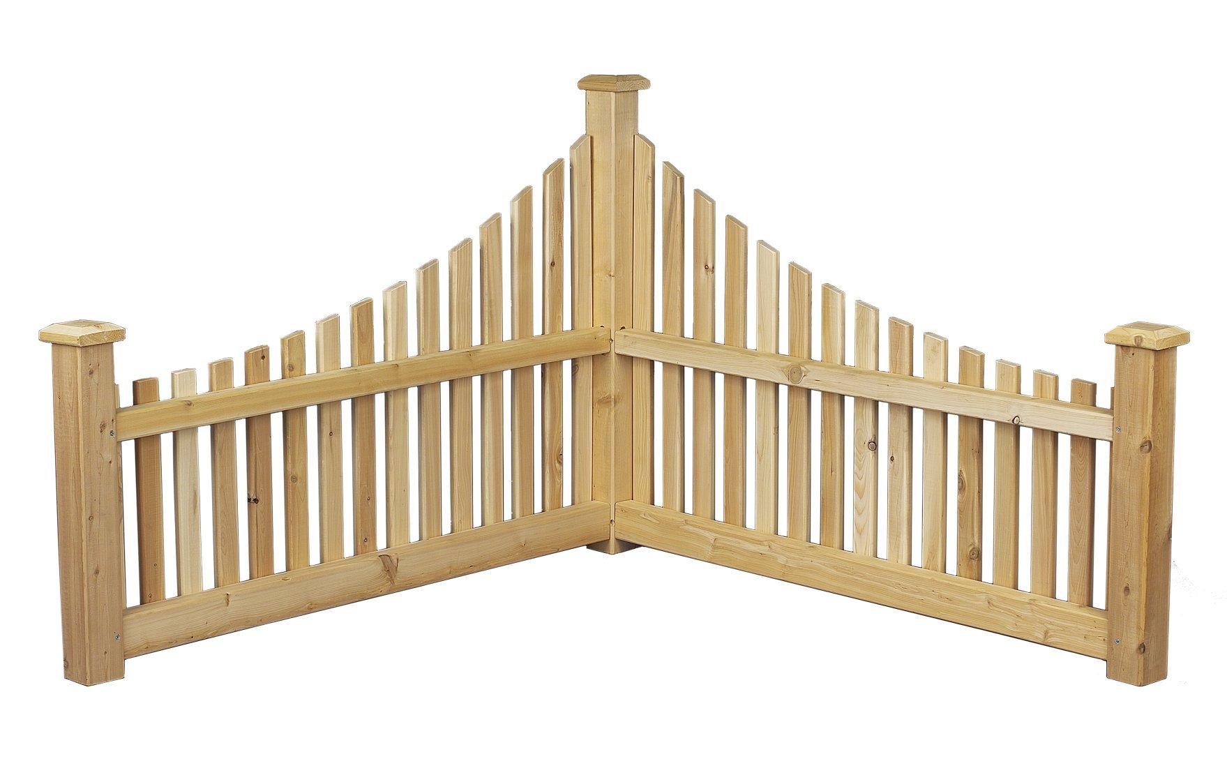 Cedarlooks 0600550 Corner Accent Fence