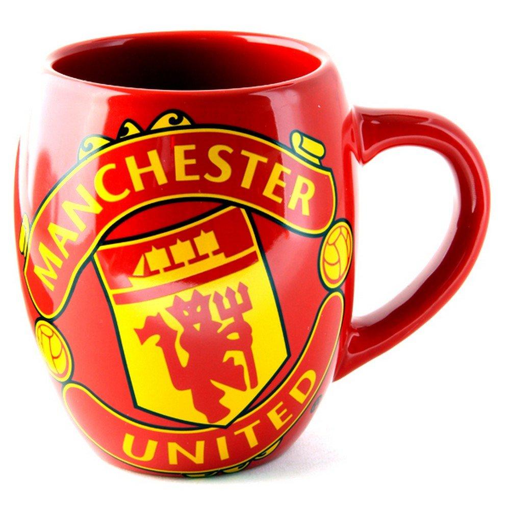 Manchester United F.C. Bauchige Teetasse, offizielles Merchandise Footie Gifts UTSG13241_1