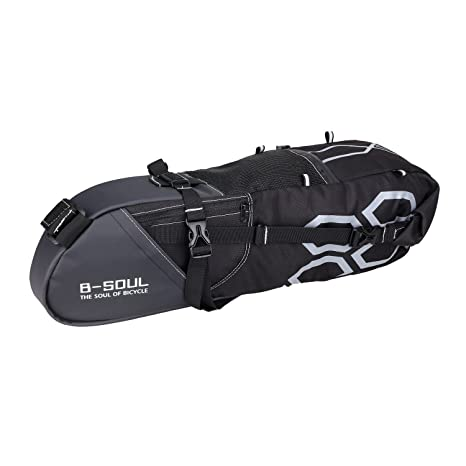 6ed5f730583 Image Unavailable. Image not available for. Color  Mmrm 12L Large Bike  Saddle Bag MTB Seat Pack Bag Cycling Bicycle Pocket Riding Cycling