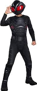 Rubie's Boys Aquaman Movie Child's Black Manta Costume, Medium