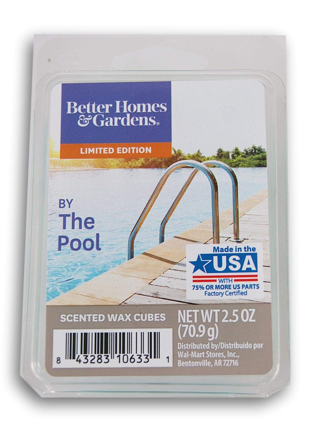 Better Homes & Gardens by The Pool 2019 Edition Wax Cubes