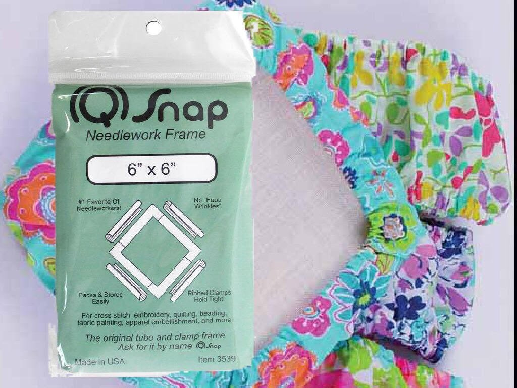 6x6 Frame and Cover (Colors vary) Bundle Q-Snap