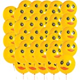 Duck Printed Latex Balloons - 48 ct