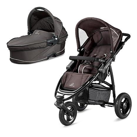 Quinny 77806040 Speedi - Carrito de bebé convertible en silla de paseo, incluye capota,
