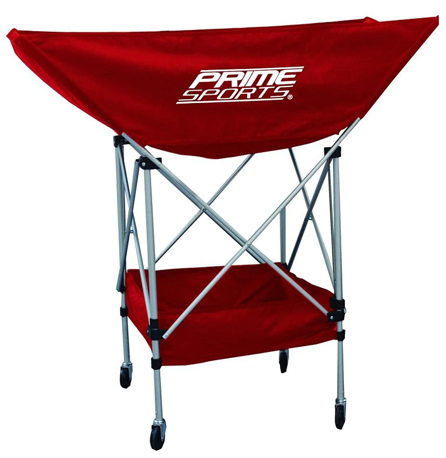 First to the Finish Premium Tall Ball Cart Prime Sports Equipment