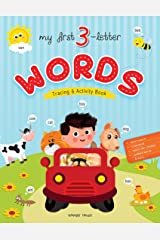 My First 3 Letter Words : Tracing And Activity Book Paperback