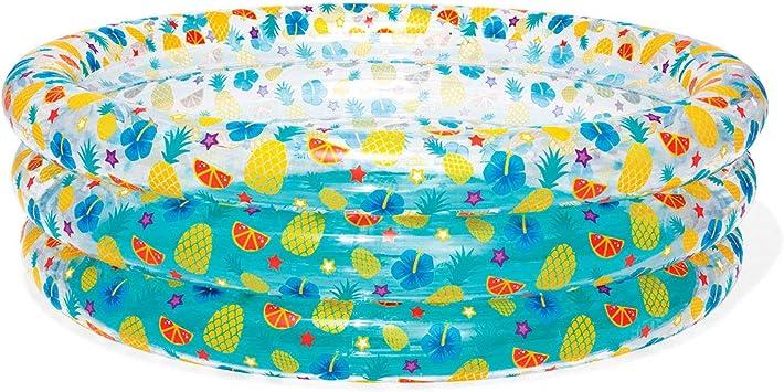 Bestway 51048 - Piscina Hinchable Infantil Transparent Sea Life 170x53 cm