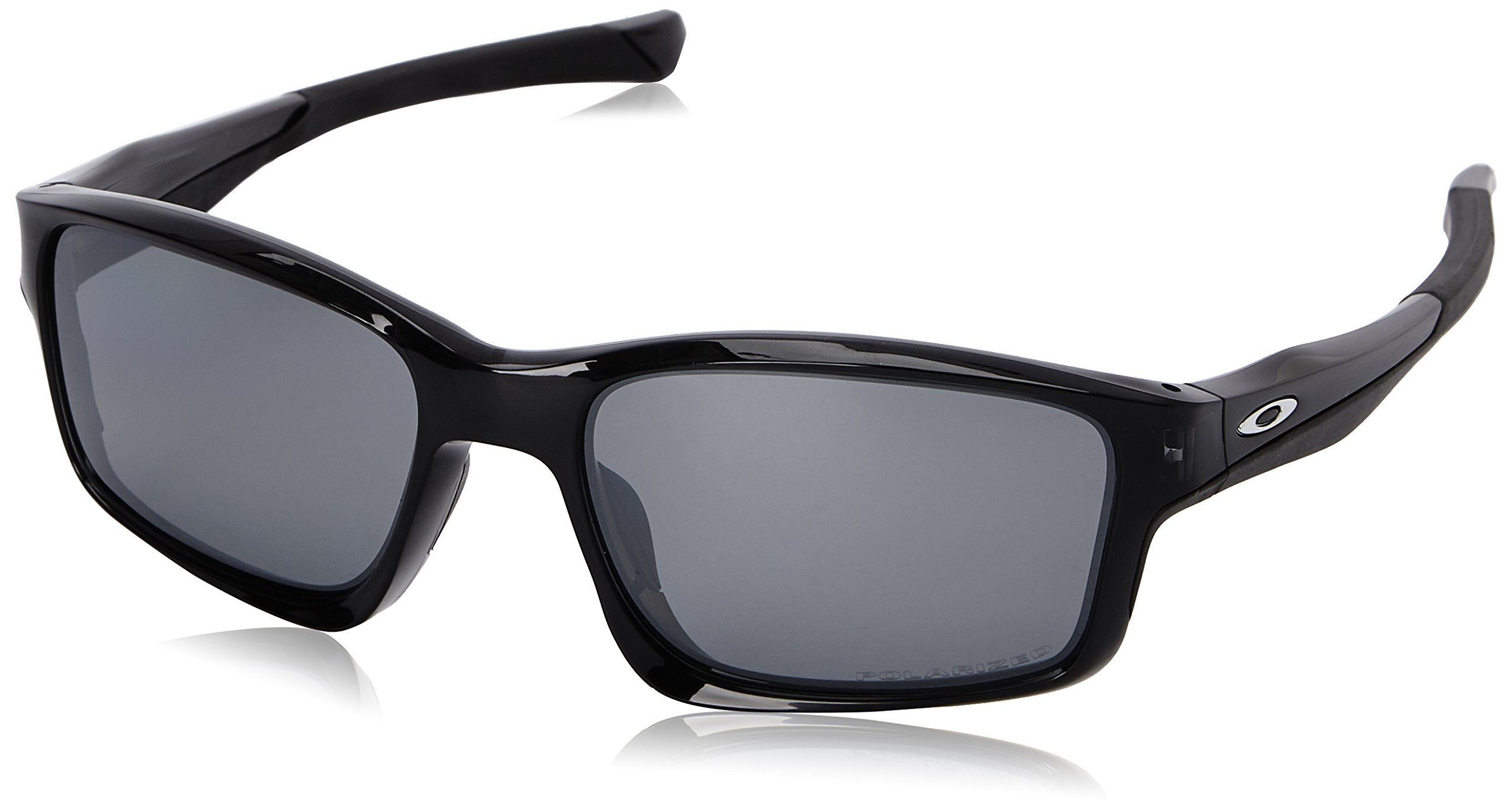 Oakley Mens Chailink OO9247-09 Polarized Ractangular Eyeglasses, Black Ink, 57 mm