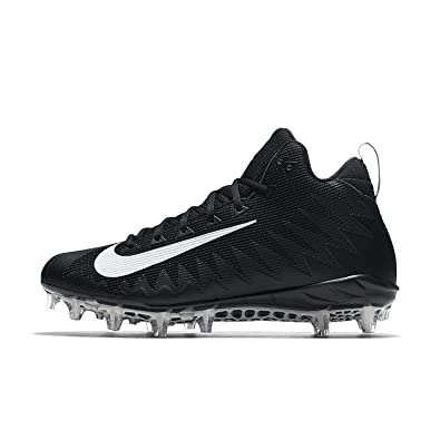 d7572b97a34b Nike Men s Alpha Menace Pro Mid Football Cleat Black White Size 8 M US  Buy  Online at Low Prices in India - Amazon.in