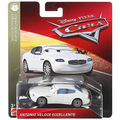 Disney Pixar Cars Antonio Veloce Eccellente: Toys & Games