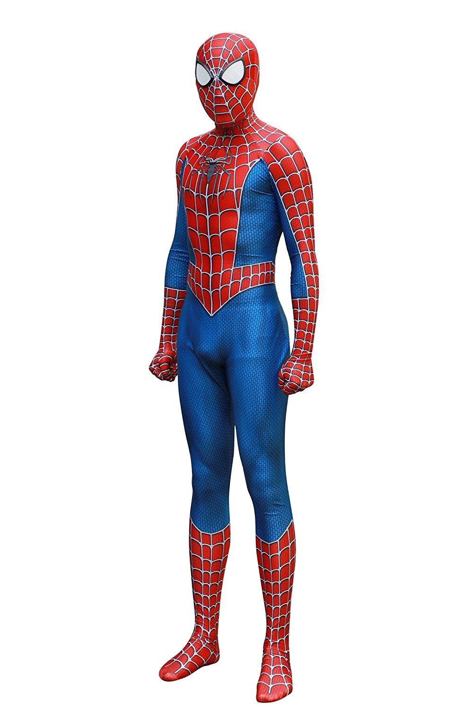 KILLYCOS Unisex Lycra Spandex Zentai Halloween Cosplay Costumes Adult/Kids 3D Style