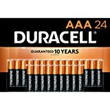 Duracell - CopperTop AAA Alkaline Batteries - long lasting, all-purpose Double A battery for household and business - 24…