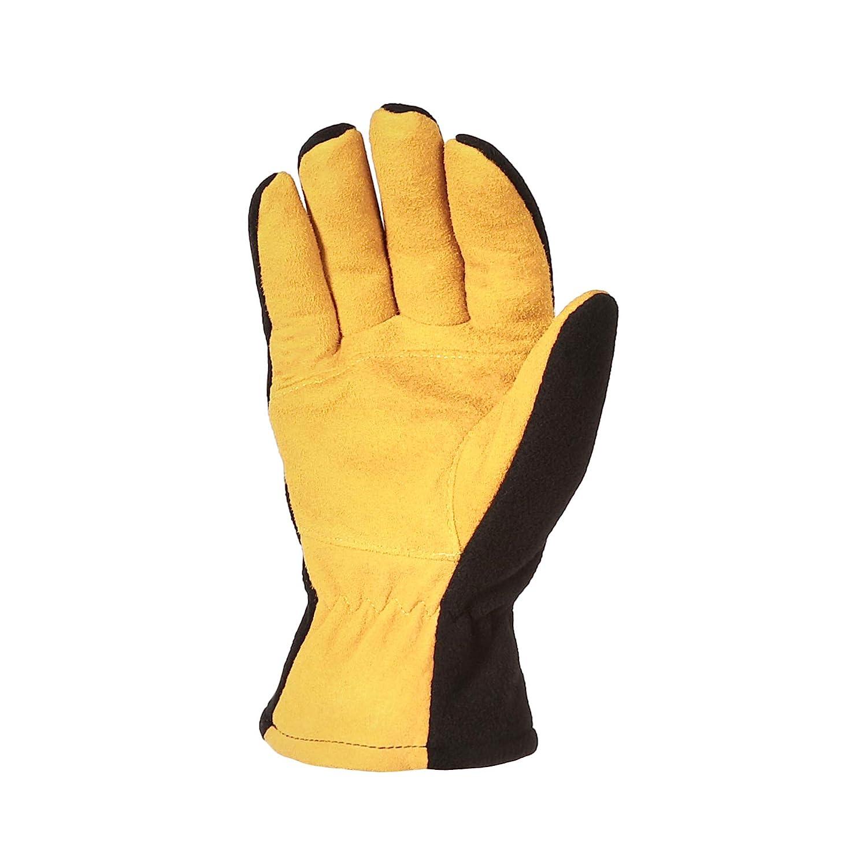 Black Basics Cold Proof Thermal Winter Work Gloves L