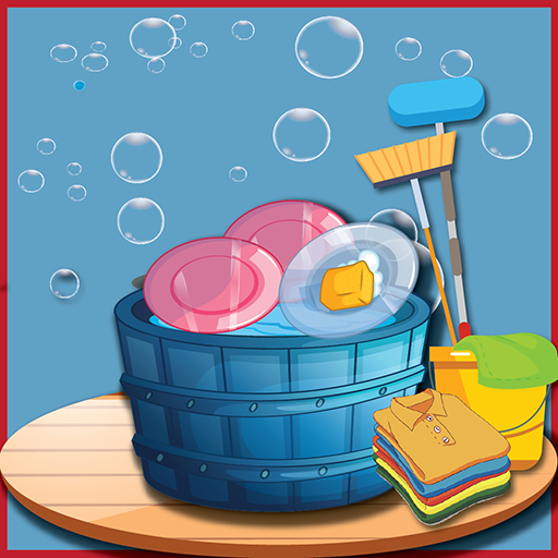 Girl Cleaning Games: Baby House Cleanup