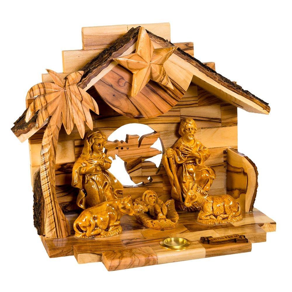 Kurt Adler Double Extra Large Olive Wood Nativity Music Box Home Accessories by Kurt Adler (Image #5)