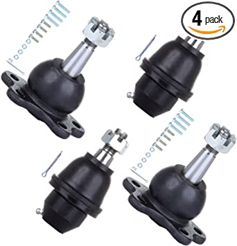 AUTOMUTO Replacement Parts Front Upper Lower Ball Joints fit for 1994-1999 for Dodge RAM 1500 2500 PICKUP with K8195T K3134T