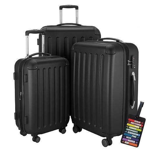 110 opinioni per Hauptstadtkoffer® Set di valigie 49+82+128 litri con un lucchetto TSA Seria