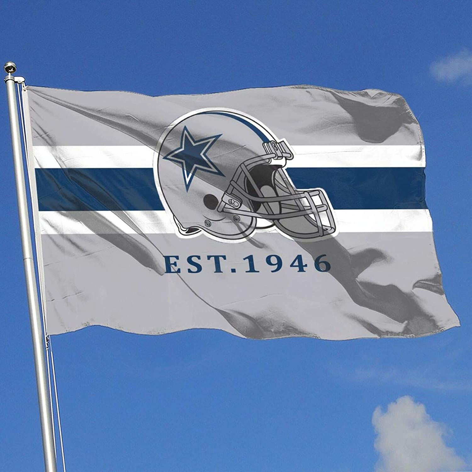 Dallas Cowboys Garden Flags House Yard Decoration Sports Banner for Home 3x5 FT