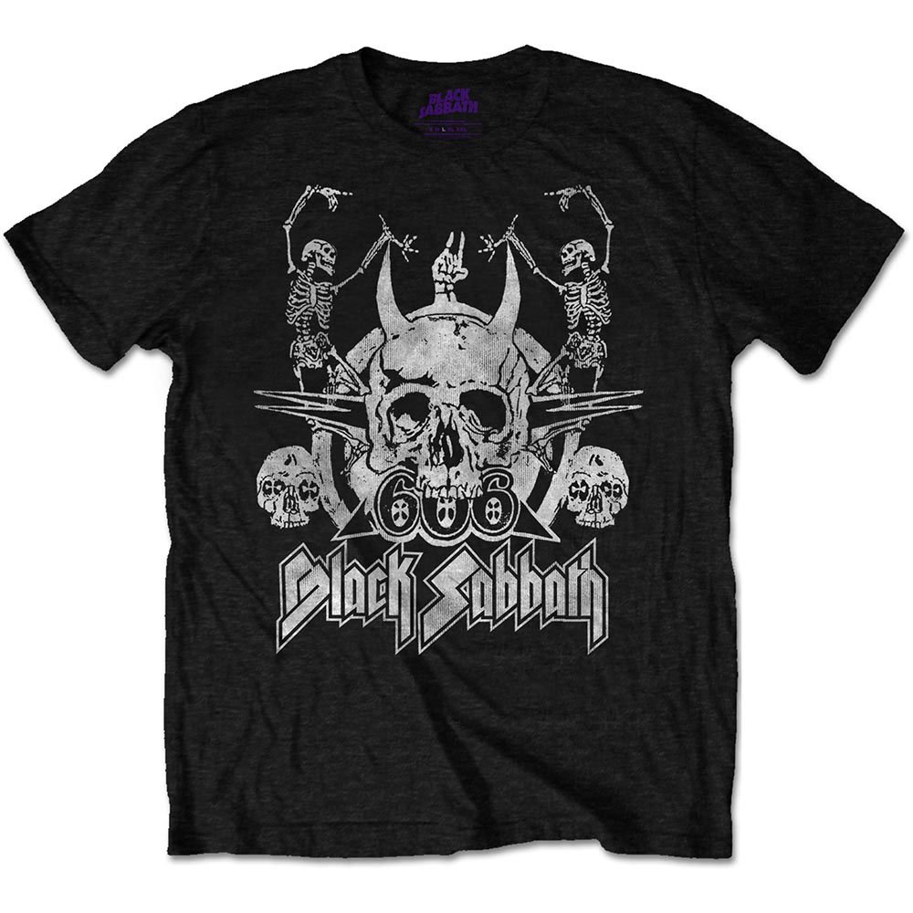Black Sabbath Men's Dancing T-shirt Black