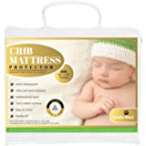 Little Owl Collection Crib Mattress Protector, Waterproof Bedwetting Incontinence, Hypoallergenic and Breathable Toddler…