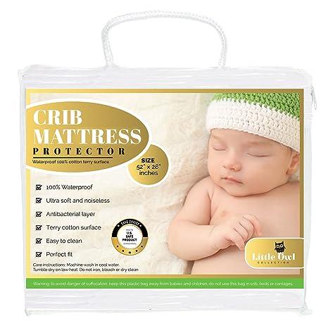 Colch/ón de cuna para beb/é transpirable impermeable para cochecito de beb/é Talla:71 x 35 x 4 cm