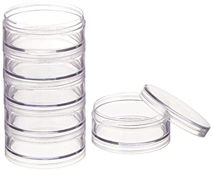 Amazoncom Paylak CNTB111 6 Storage Stackable Containers 6 For
