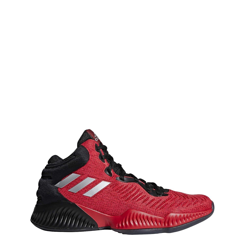 Noir (Cnoir Silvmt Scarle Cnoir Silvmt Scarle) adidas Mad Bounce 2018, Chaussures de Basketball Homme 50 2 3 EU