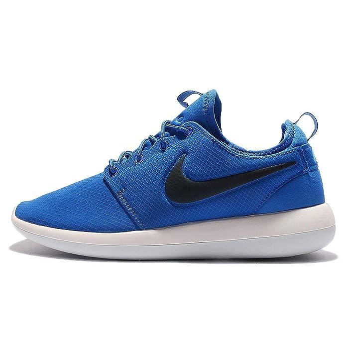 Nike Roshe Two Sneakers Herren Blau mit schwarzem Streifen