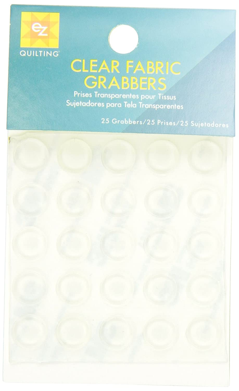 Wrights EZ Quilting 882113 Fabric Grabbers Clear Simplicity Creative Group Inc