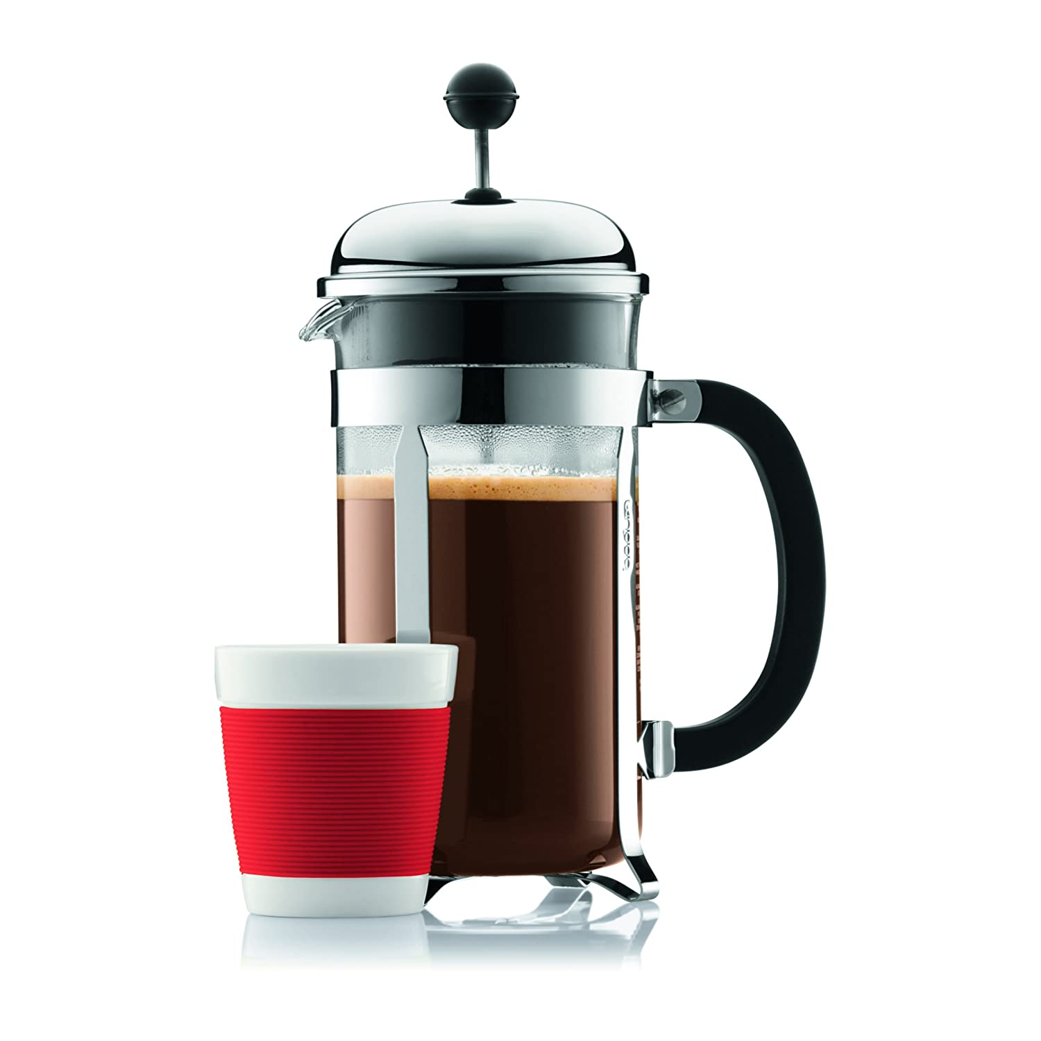 Bodum Chambord Coffee Press with cup
