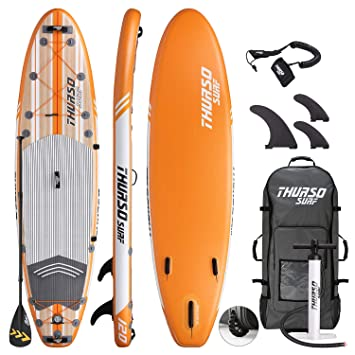 Amazon.com: THURSO SURF Waterwalker tabla de remo inflable ...