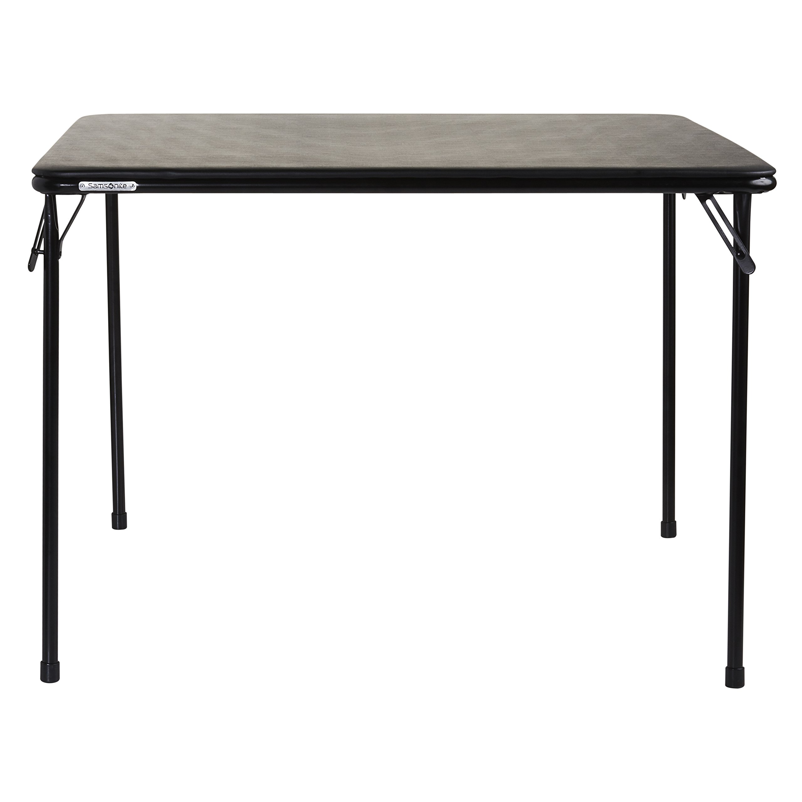 Samsonite 748661041 Card Table, 39'' x 39'', Black by Samsonite