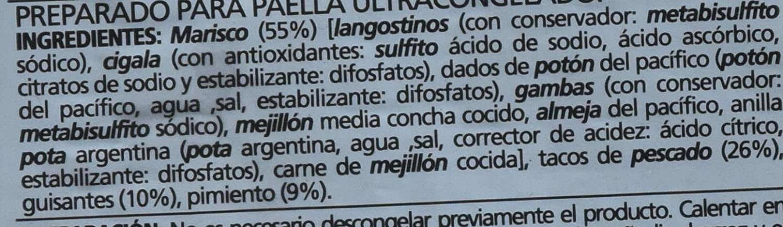 Preparado Para Paella Bja.630G: Amazon.es: Alimentación y bebidas