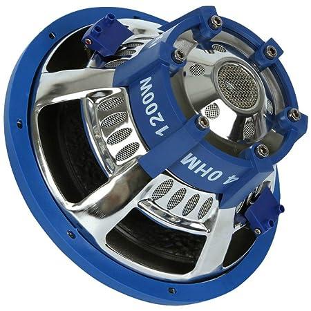 4 OHM DVC AUFH/ÄNGUNG STARR SUB SUBWOOFER AUTOMOBIL PYLE PLBW124 VON 600 WATT RMS IST 1200 WATT MAX 12 30,00 CM 300 MM LAUTSPRECHER VERDOPPELT SPULE 4