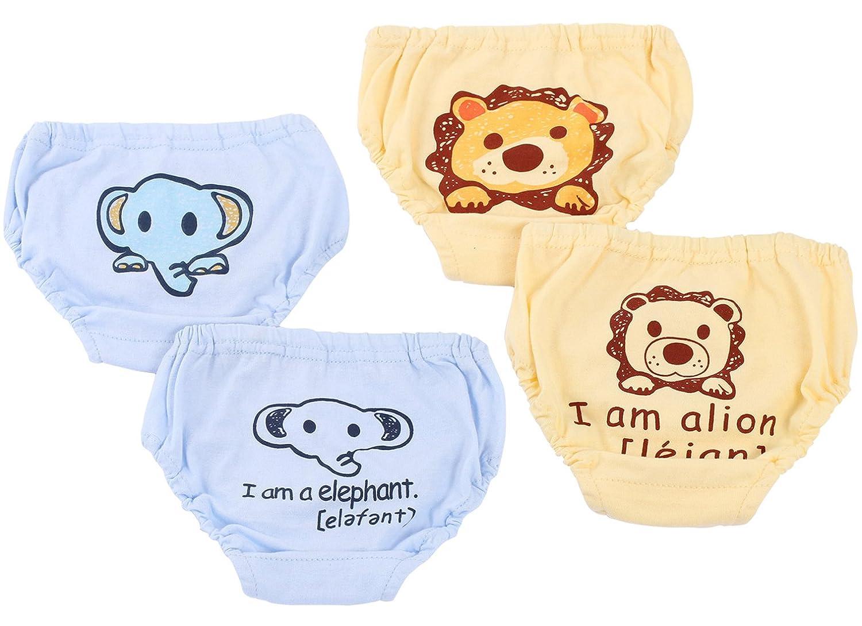 Girls Boys Training Pants Toddler Training Underwear Reusable Potty 4 Pack Joyo roy