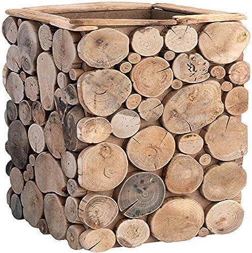 Boston International Decorative Driftwood Container