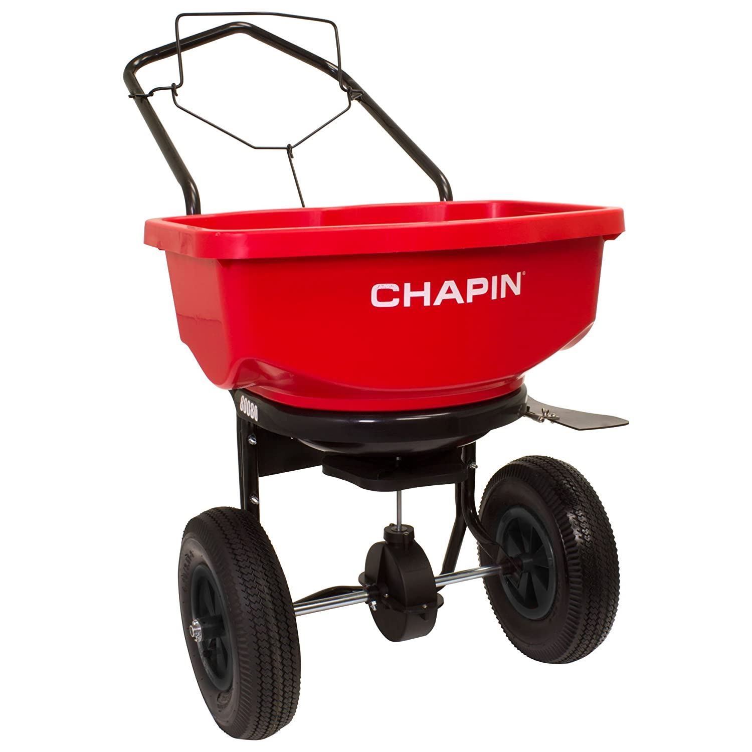 Chapin International 80080 Chapin All Season Residential Spreader, 80 lb, Red