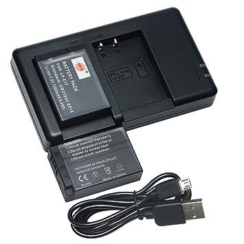 DSTE 2PCS LP-E17(1300mAh/7.2V) Batería Cargador Kit para Canon EOS M3 M5 77D 750D 760D 8000D 9000D Kiss X8i Rebel T6i T6s EOS Rebel SL3(EOS 250D / EOS ...