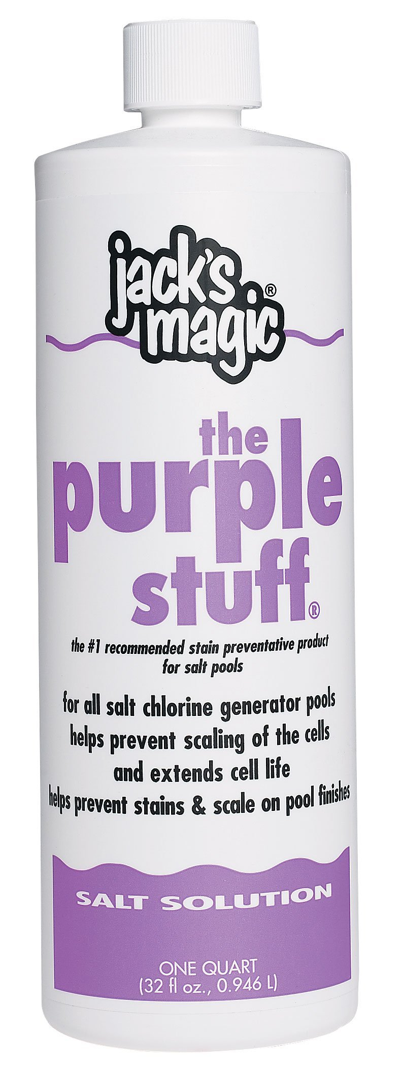 Jack's Magic The Purple Stuff Pool Stain and Scale Preventer - 2 x 1 Quarts by Jack's Magic
