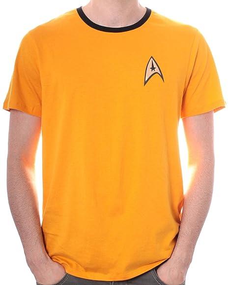 Star Trek Uniforme - Camiseta para hombre: Amazon.es: Hogar