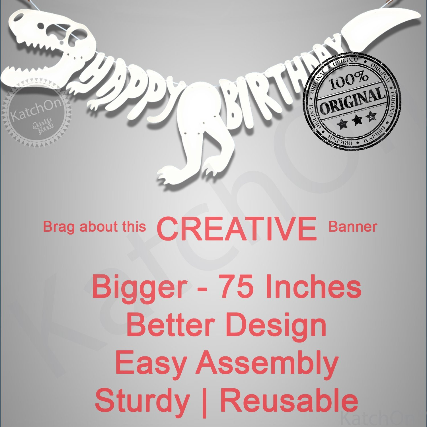 Dinosaur Birthday Banner Party Supplies 6 Foot Large Unique Decorations For T Rex