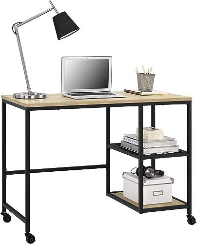 Ameriwood Home Brookspoint Computer Desk, Golden Oak