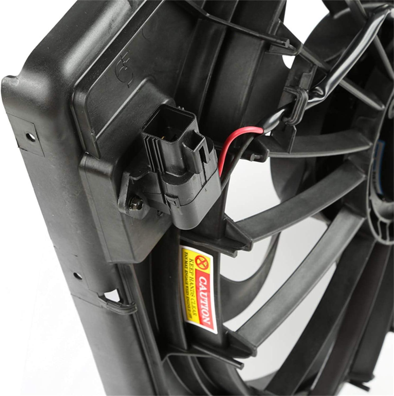 Dorman 621-601 Radiator Fan Assembly with Brushless Motor for Select Jeep Wrangler Models