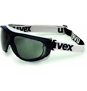 dd3694800cd Honeywell S1651DF Uvex by Carbonvision Impact Goggles with Black and Gray  Frame