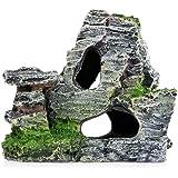 MSYOU Adornos para Acuario, Paisaje, pecera, decoración de Resina, rocío o Cueva