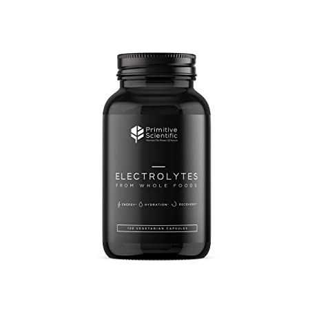 Electrolytes from Whole Foods – Electrolyte Supplement 120 Vegetarian Capsules Advanced Natural Formula for Energy, Hydration and Recovery with Magnesium, Potassium, Calcium, Chloride, Sodium