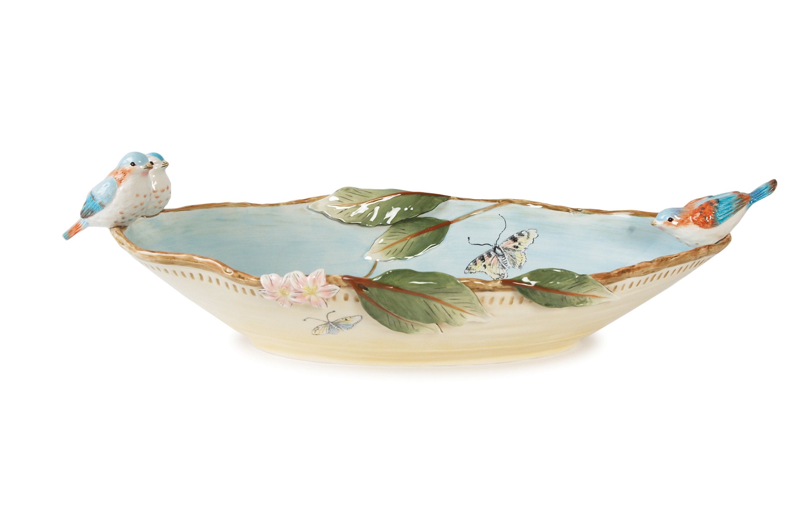 Toulouse Collection, Centerpiece Bowl by Fitz and Floyd (Image #1)